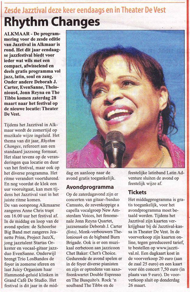 Alkmaars Weekblad, 25 maart 2015