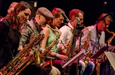 Burn Brigade bigband feat. Betty Borstlap
