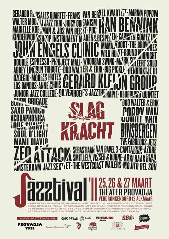 3e editie Jazztival: Slagkracht!