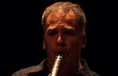 Het kwartet met Frans van Berkel op klarinet